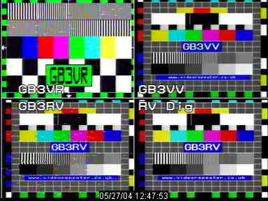 Quad Image of all repeaters